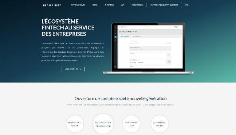 Ibanfirst compte pro banque en ligne néobanque