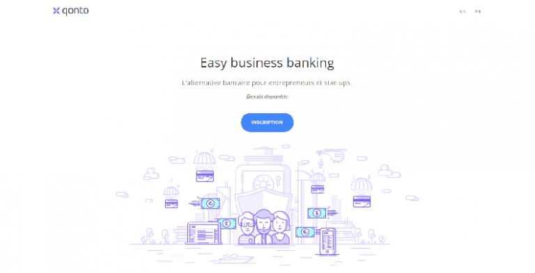 Qonto compte-pro banque en ligne néobanque