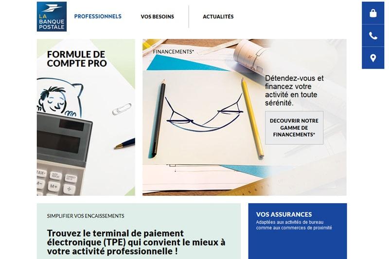 Compte Pro La Banque Postale