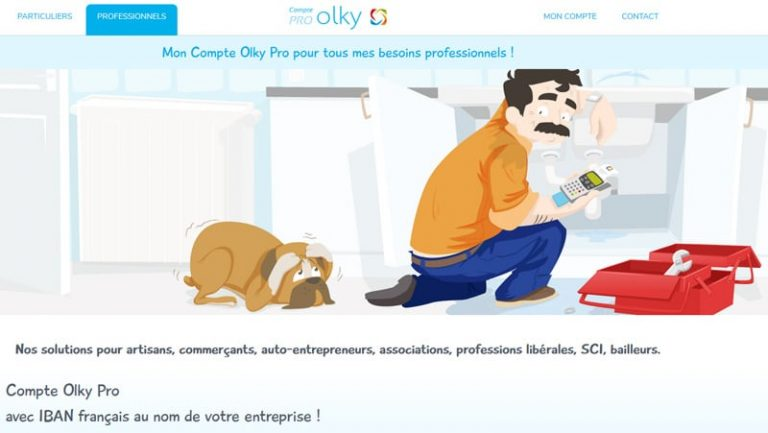 Compte professionnel Olky