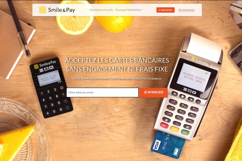 TPE Smile & Pay Terminal de Paiement mobile