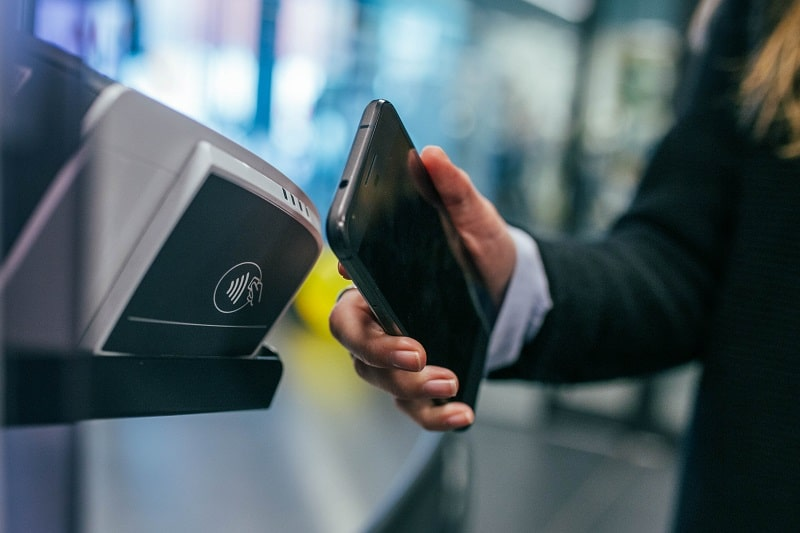 Paiement mobile mini TPE paiement sans contact m-paiement