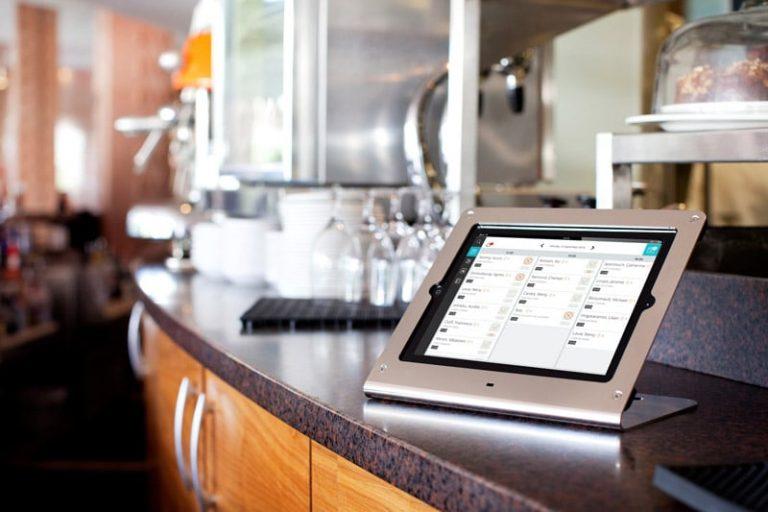 les caisses tactiles sur iPad