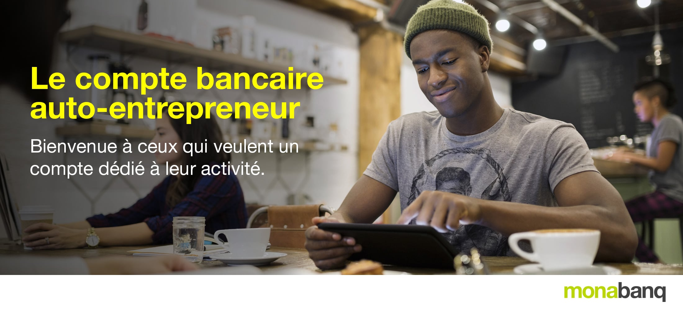compte autoentrepreneur Monabanq