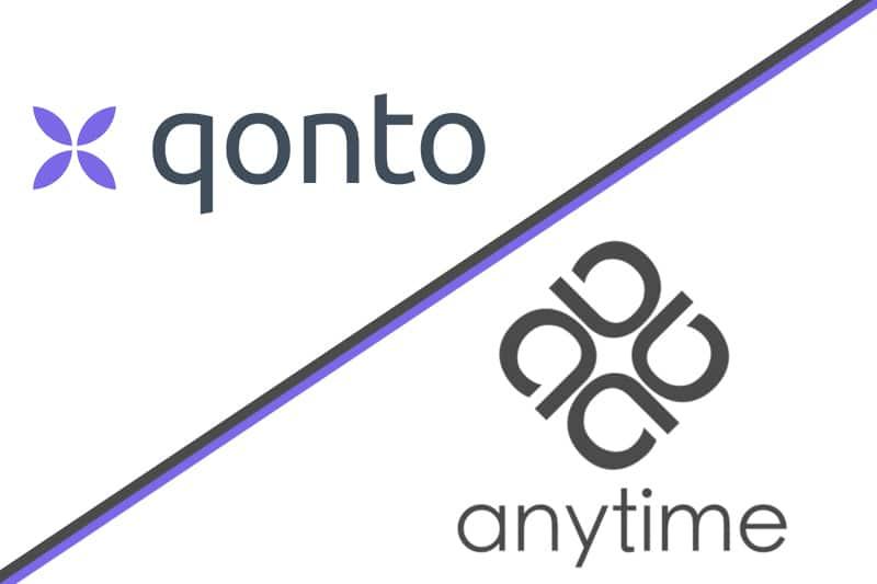 Compte pro en ligne Qonto ou Anytime Business