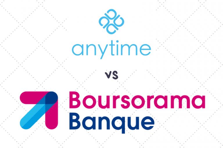 Anytime ou Boursorama : Quelle banque choisir ?