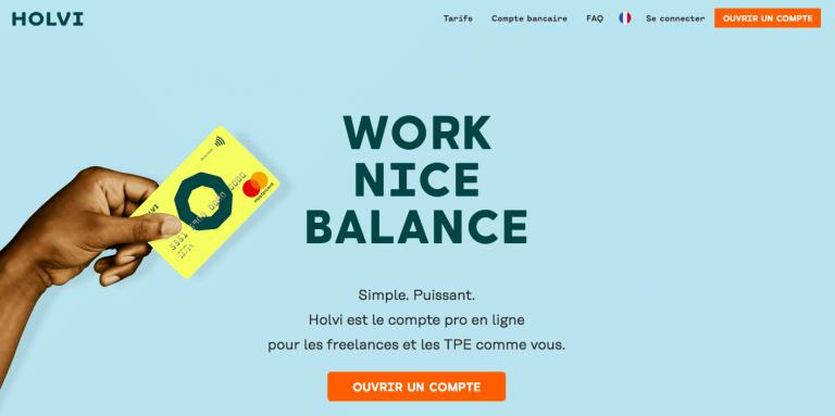 Holvi : compte pro en ligne