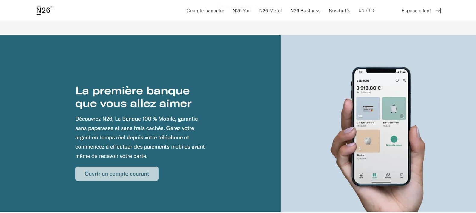 N26 particuliers