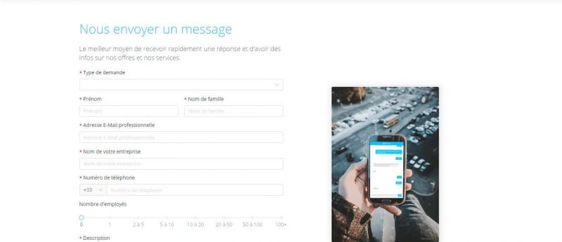 Anytime : Contacter le service client