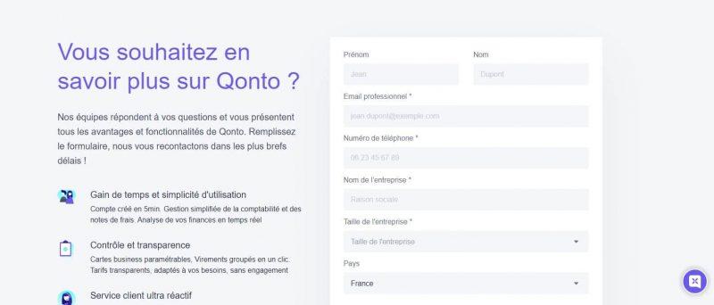Qonto : Contacter le service client
