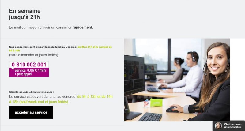 Monabanq : Contacter le service client