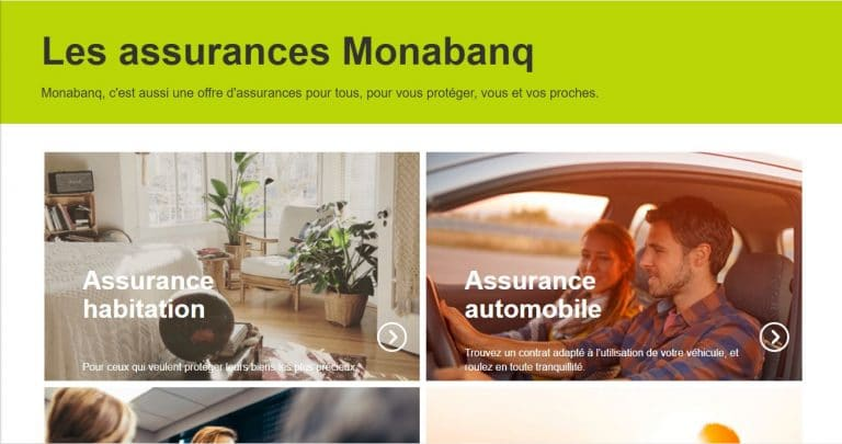 Monabanq : Les assurances vie