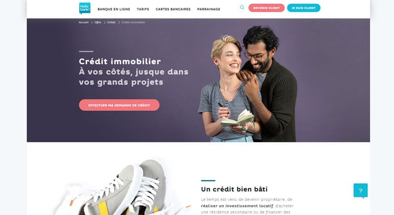 Emprunter sur Hello Bank