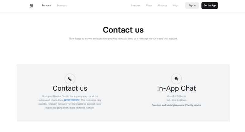 Revolut : Contacter le service client